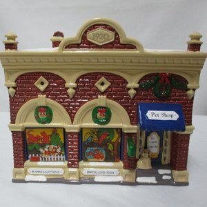 Dept 56 Snow Village Vet & Pet Shop Christmas